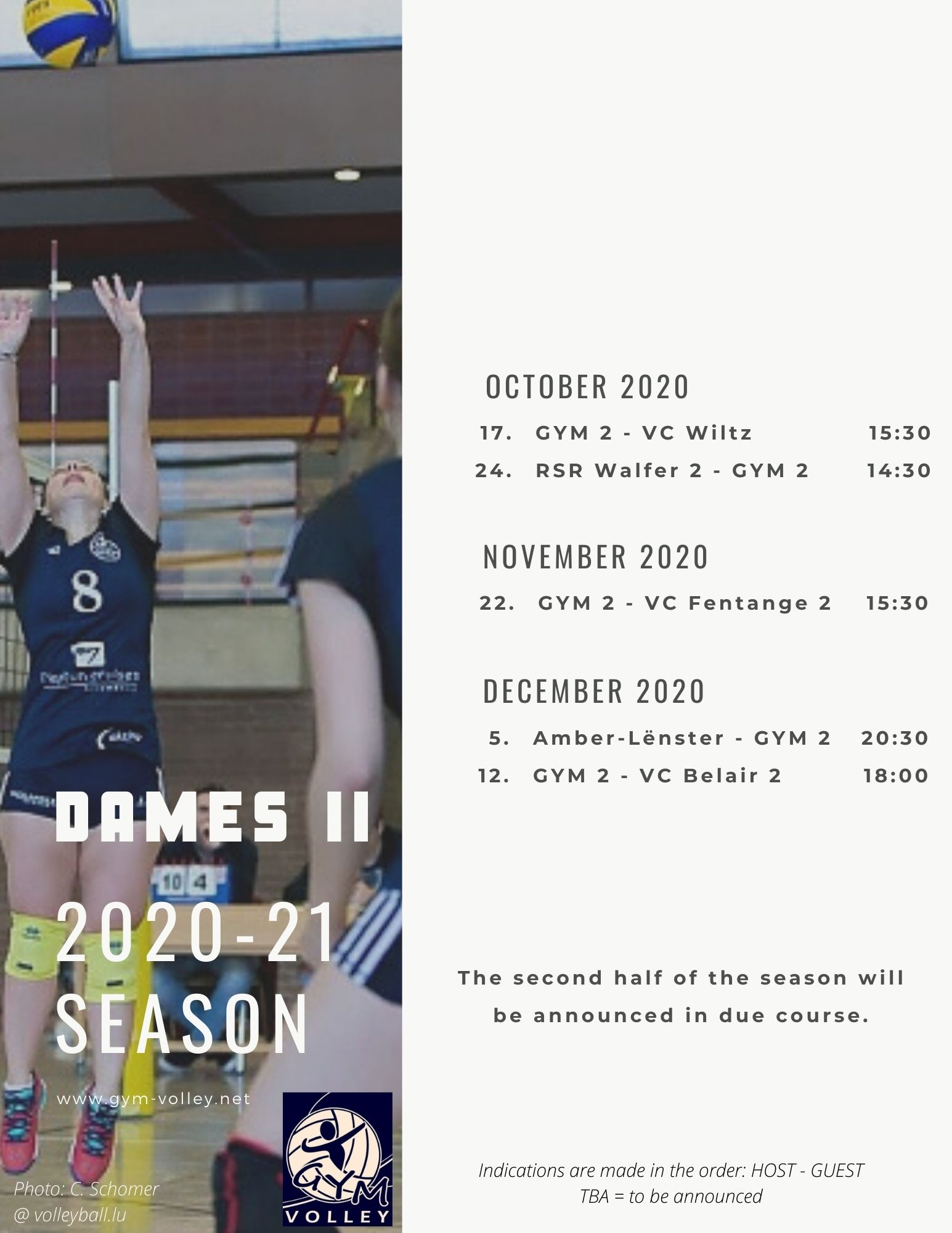 Season 2020 21 Schedule Dames2